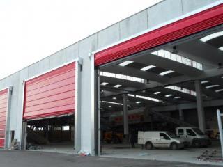 Porte rapide à empilage Belt pour hangar professionnel